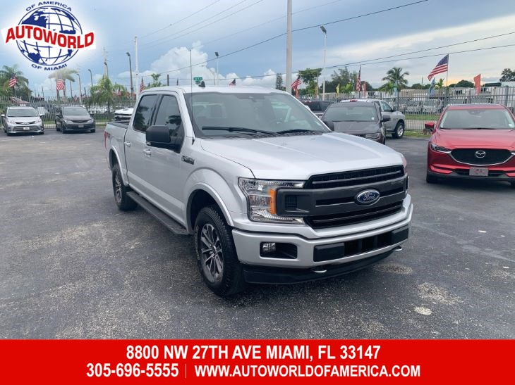 2019 Ford F-150 4WD SuperCrew XLT