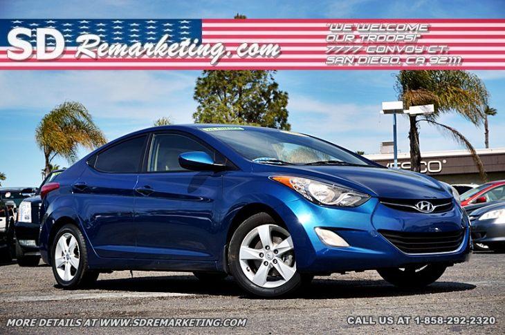 Used 2013 Hyundai Elantra For Sale In San Diego Ca Sd Remarketing