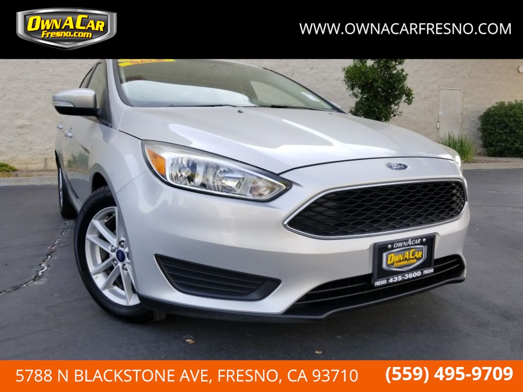 Ford Focus2016 & Own a Car - Used Cars in Fresno - Only $500 down