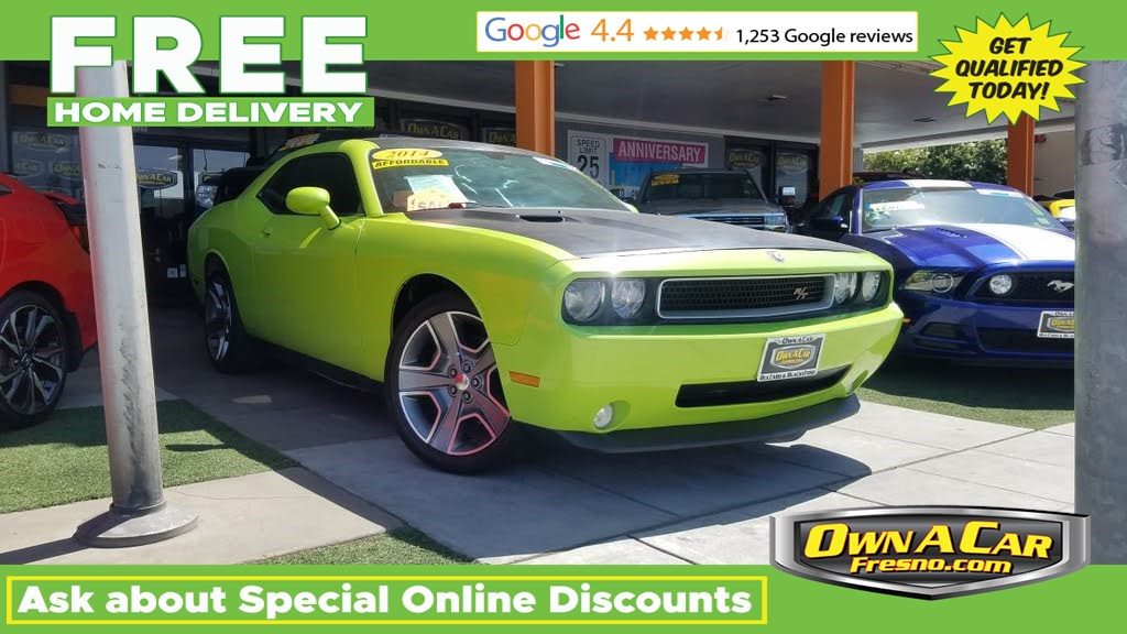 Sold 2014 Dodge Challenger R T Plus In Fresno