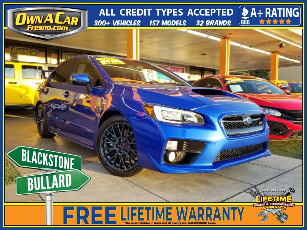 Subaru Warranty 2017 >> Used 2017 Subaru Wrx Sti In Fresno