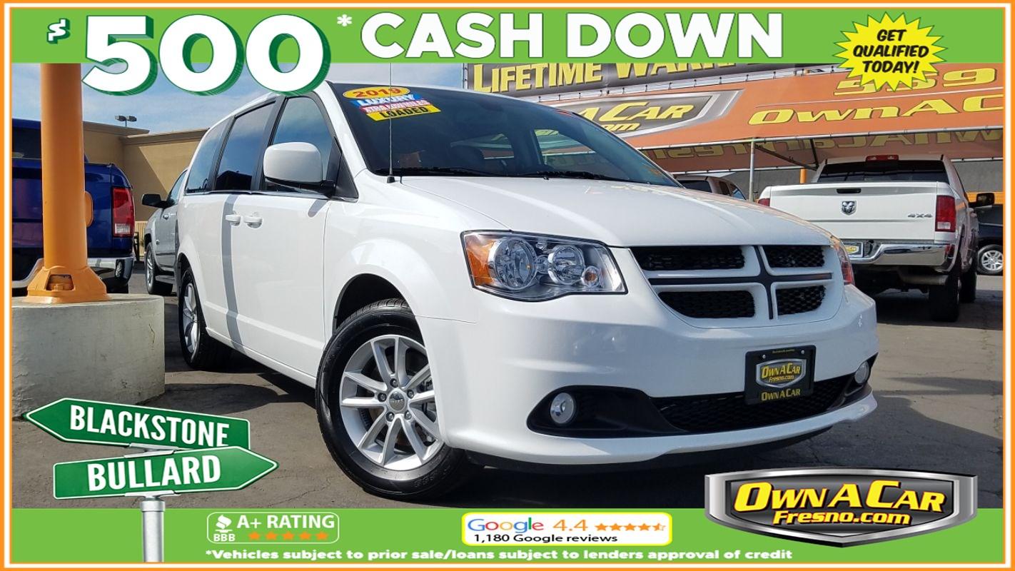 Sold 2019 Dodge Grand Caravan Sxt In Fresno