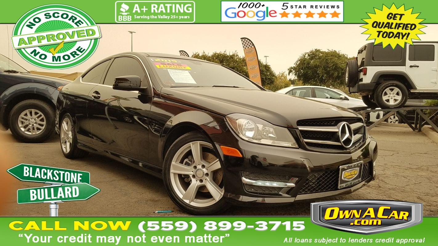 2015 Mercedes-Benz C 250 Coupe