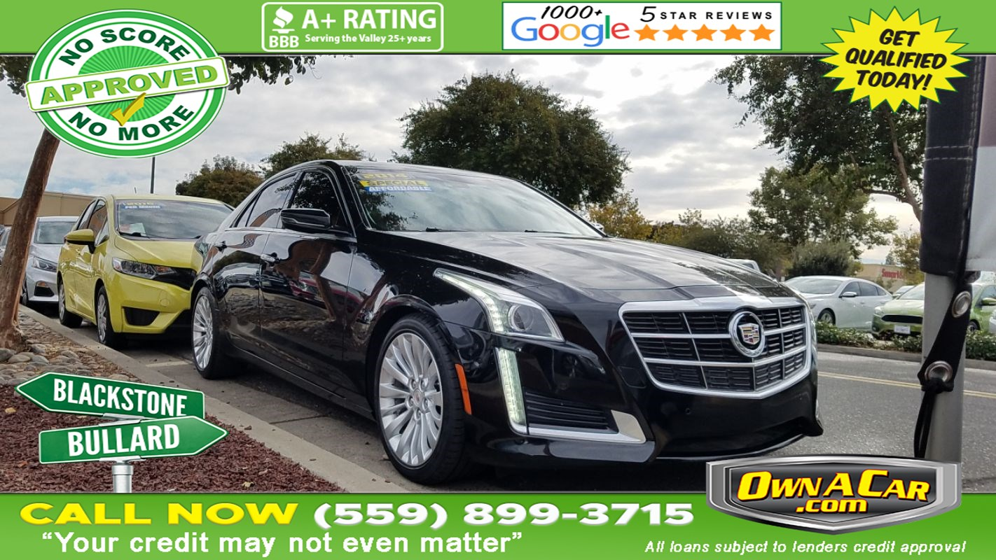 2014 Cadillac CTS Sedan Performance RWD