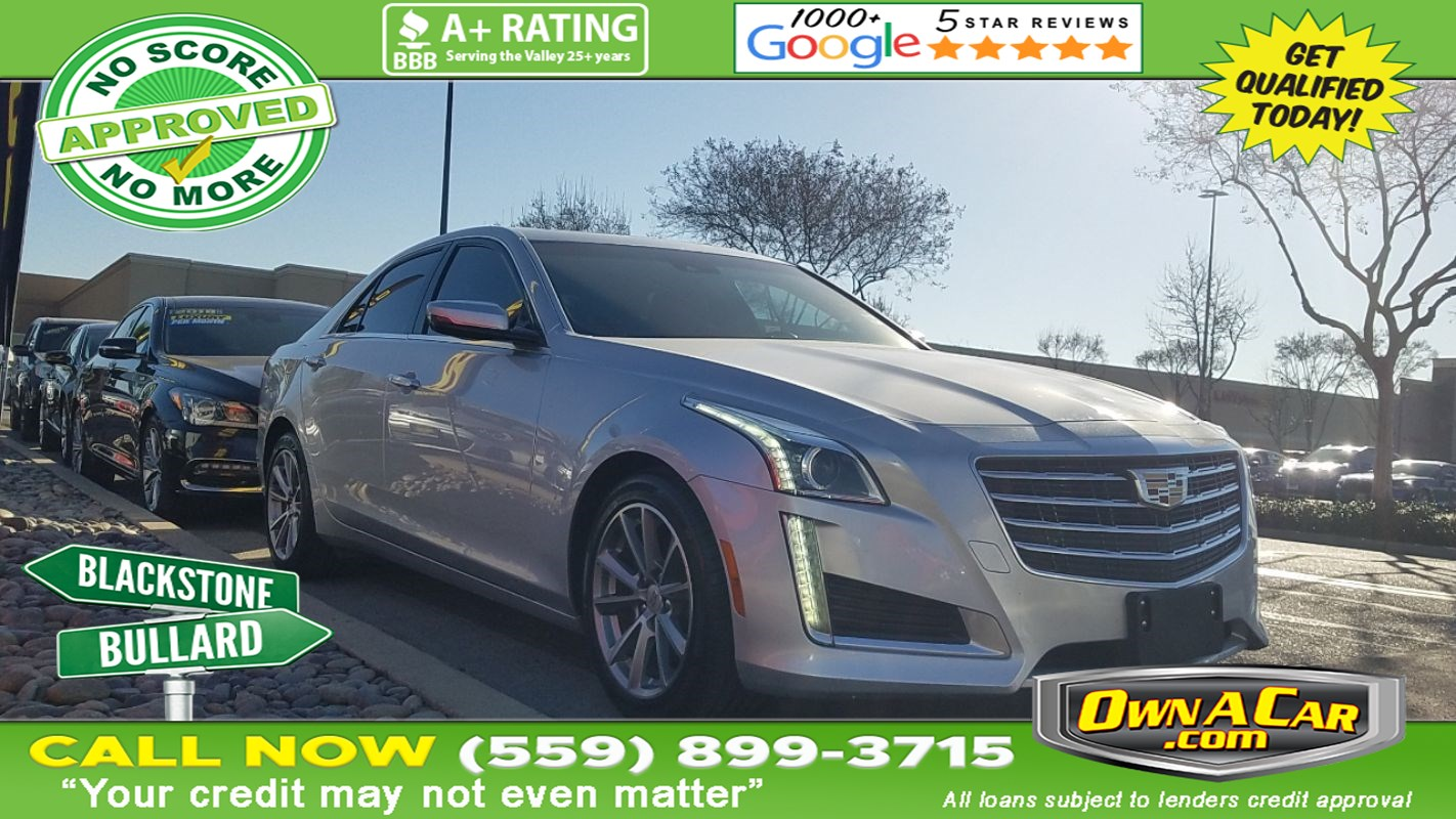 2017 Cadillac CTS Sedan Luxury RWD