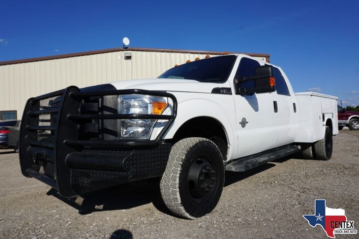 2016 Ford F350 DIESEL POWERSTROKE 4X4 SERVICE BED