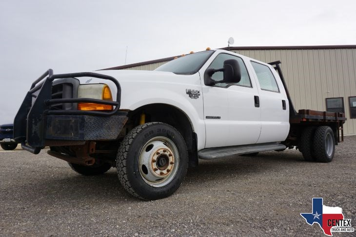 2001 Ford F550 7.3 DIESEL POWERSTROKE 6-SPEED 4X4