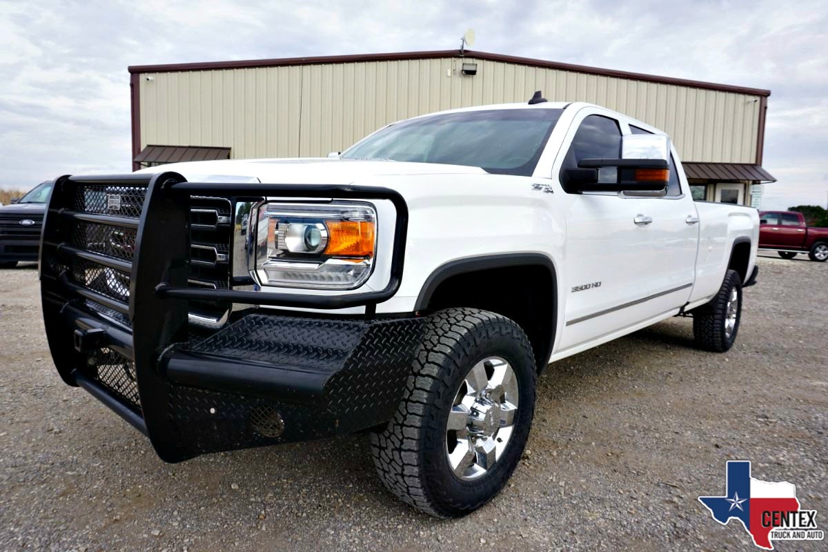 2016 GMC SIERRA 3500 SLT DIESEL CLEAN 4X4 LEATHER