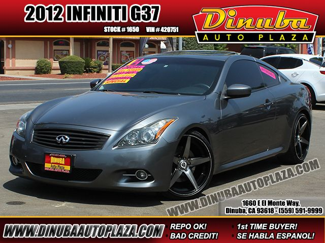 Sold 2012 Infiniti G37 Coupe Journey In Dinuba
