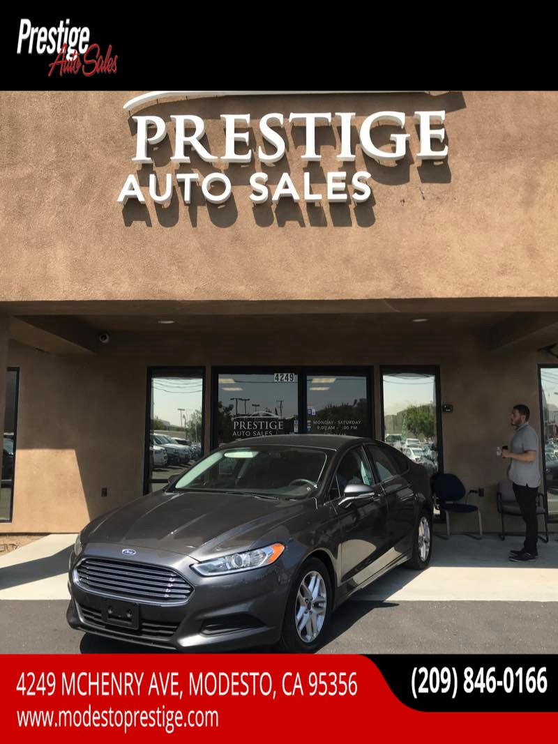 2016 Ford Fusion SE - Prestige Auto Sales