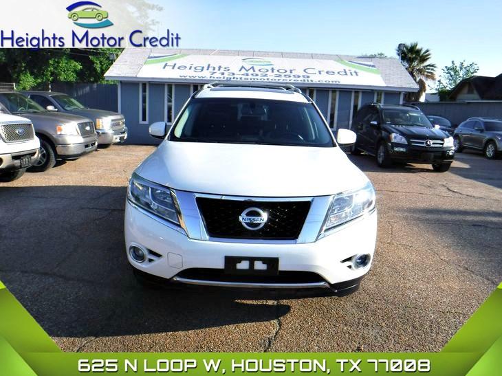 Sold 2013 Nissan Pathfinder Sl In Houston