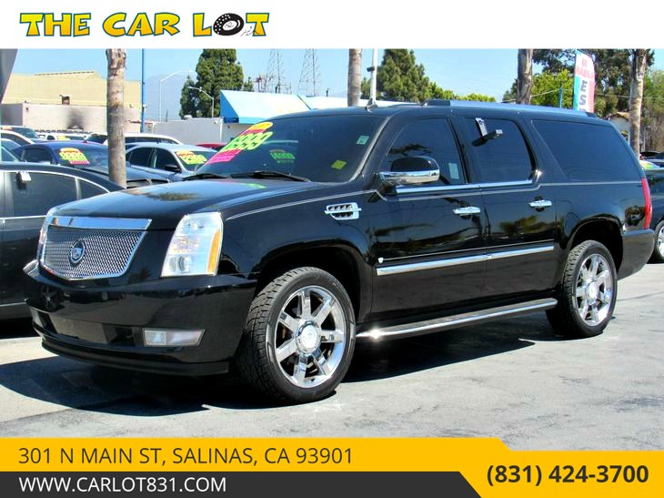 Sold 2007 Cadillac Escalade Esv In Salinas