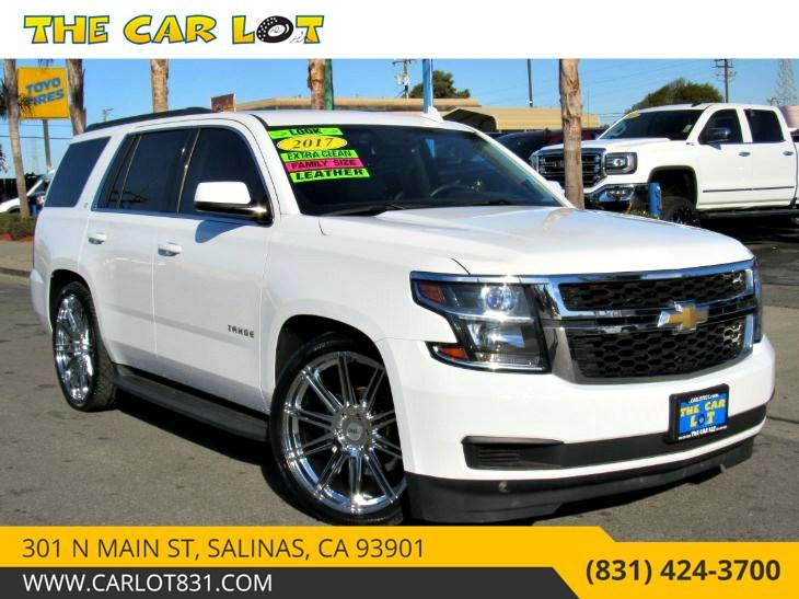 Sold 2017 Chevrolet Tahoe Lt In Salinas