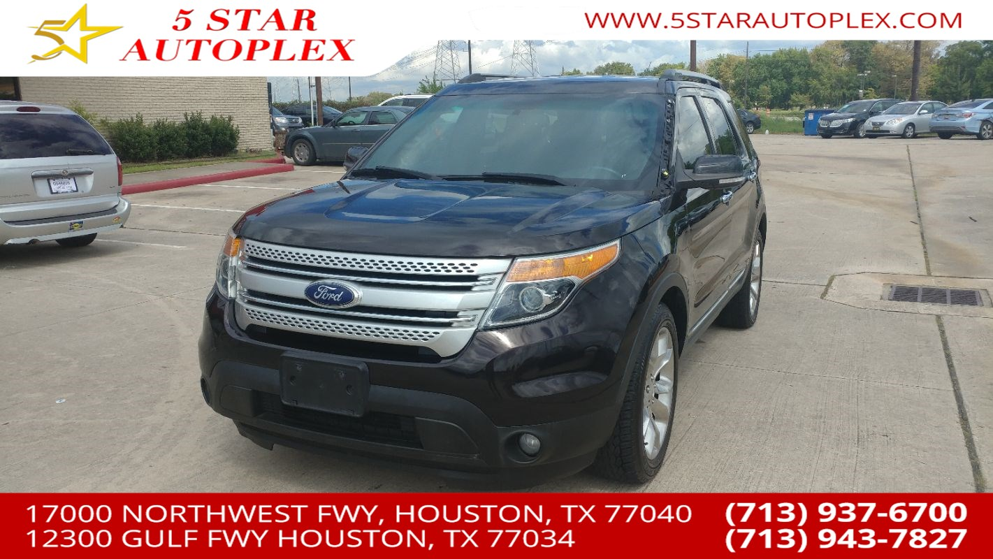 Used 2014 Ford Explorer For Sale In Houston Tx 5 Star Autoplex Xlt