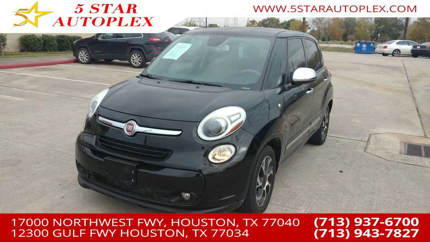Used 2014 Fiat 500l Lounge In Houston 500 Spare Tire Location Featured