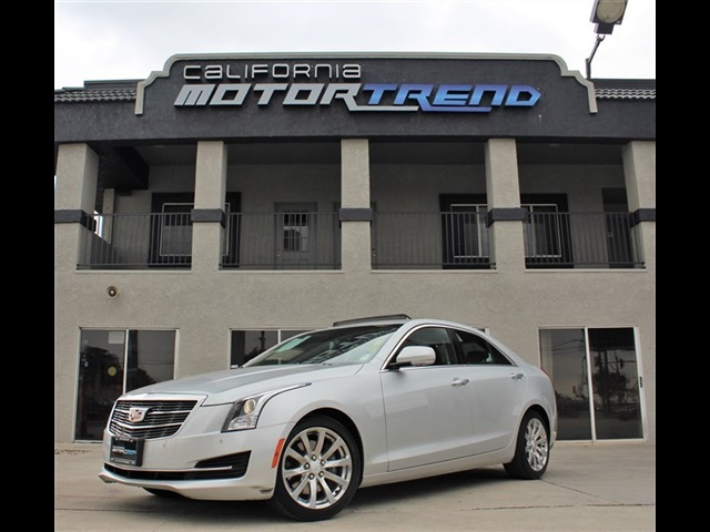 Used 2018 Cadillac Ats Sedan Luxury Rwd In Downey