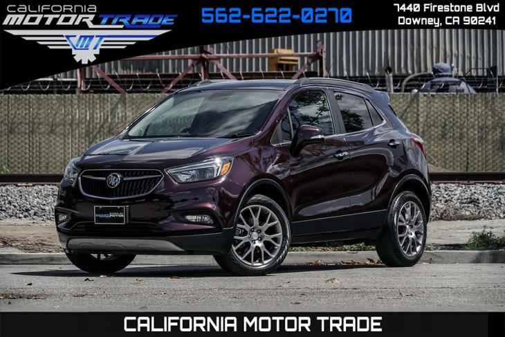 2018 Buick Encore Sport Touring (REMOTE ENGINE START & TURBOCHARGED)