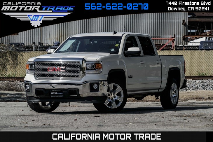 2015 GMC Sierra 1500 (NAVIGATION & BACK-UP CAMERA) SLE