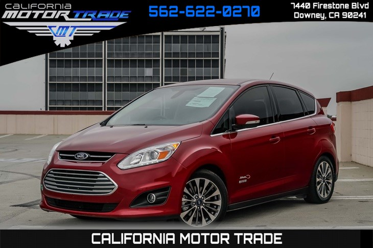 2017 Ford C-Max Energi Titanium (NAVIGATION SYSTEM & BACK-UP CAMERA)