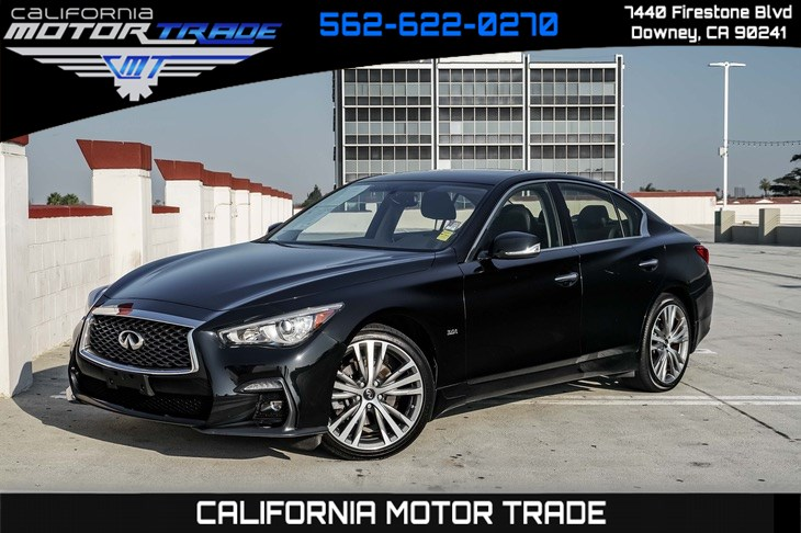 2018 INFINITI Q50 3.0t SPORT (NAVIGATION SYSTEM & BACK-UP CAMERA)