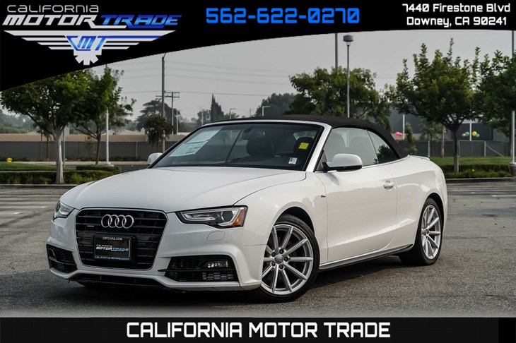 2017 Audi A5 Cabriolet 2.0T quattro Sport (NAVIGATION & BACK-UP CAMERA)