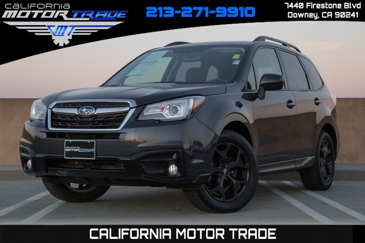 2018 Subaru Forester Premium Black Edition (Moonroof & Paddle Shifters)