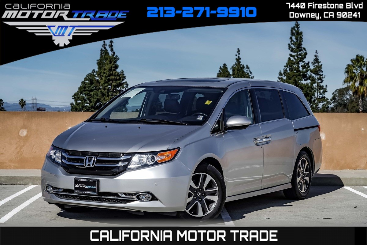 2015 Honda Odyssey Touring Elite (NAVIGATION & BACK-UP CAMERA)
