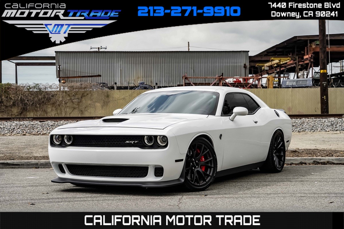 2016 Dodge Challenger SRT Hellcat (BACK-UP CAMERA & BLUETOOTH)