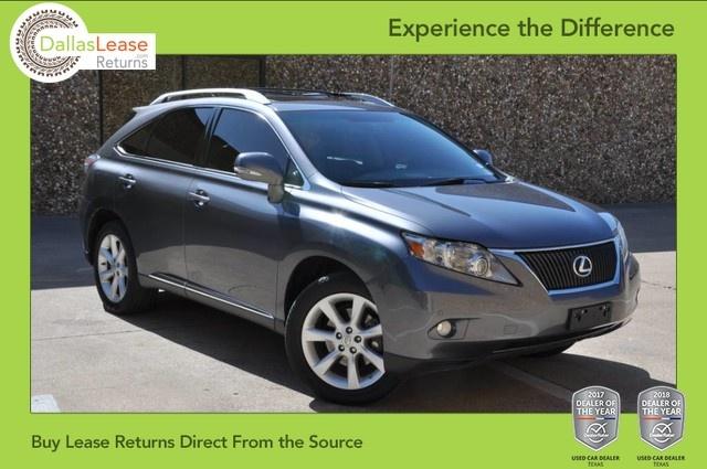 Lexus Suv Lease >> 2012 Lexus Rx 350 Dallas Lease Returns