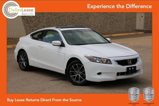 Sold 2008 Honda Accord Cpe EX L In Dallas