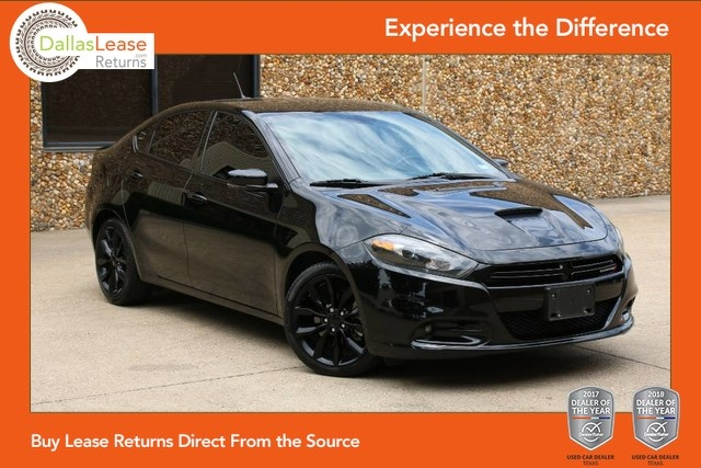 2016 Dodge Dart Gt >> 2016 Dodge Dart Gt Dallas Lease Returns