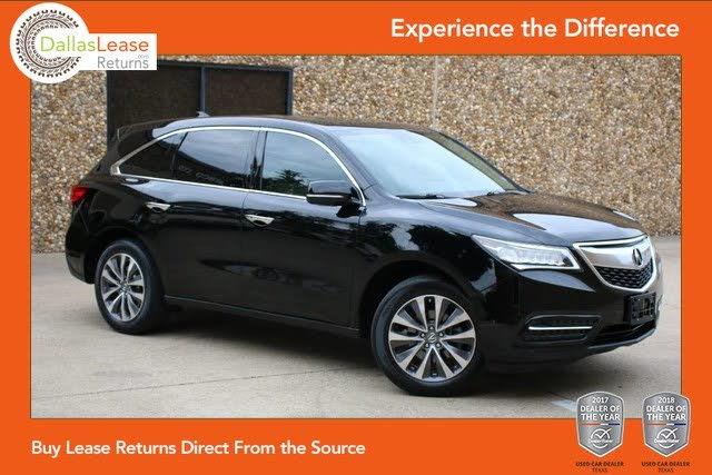 Sold Acura MDX Tech Pkg In Dallas - Acura car dealer