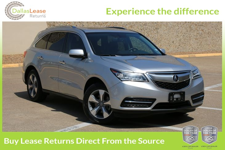 Sold Acura MDX In Dallas - Acura suv lease