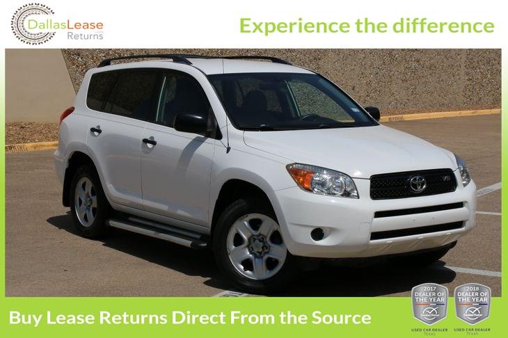 Sold 2008 Toyota RAV4 In Dallas