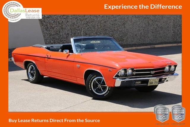 Sold 1969 Chevrolet Chevelle Convertible In Dallas