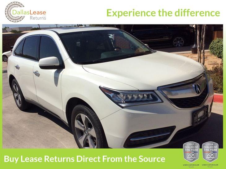 Sold Acura MDX In Dallas - Lease acura mdx