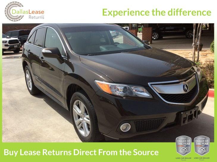 Sold Acura RDX Tech Pkg In Dallas - Acura tsx lease