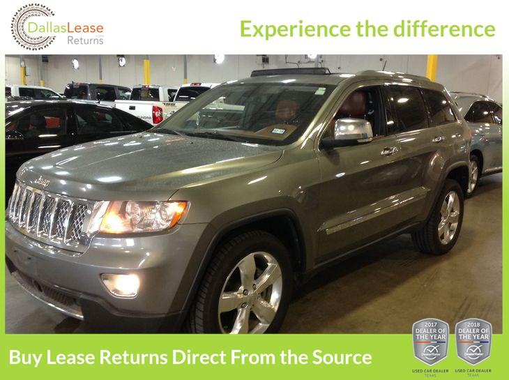 Sold 2012 Jeep Grand Cherokee Overland Summit In Dallas