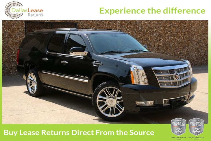 2014 Cadillac Escalade For Sale >> 2014 Cadillac Escalade Esv Platinum Dallas Lease Returns