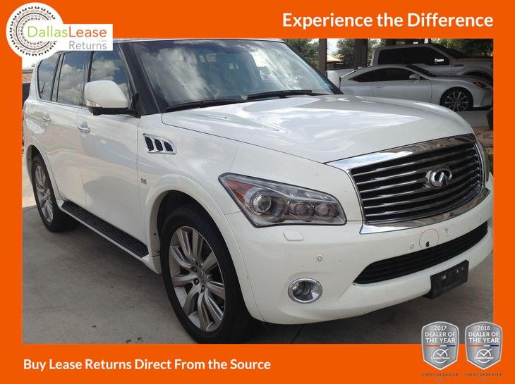 2014 INFINITI QX80 Deluxe Touring - Dallas Lease Returns