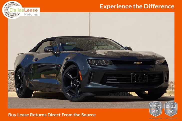 Sold 2016 Chevrolet Camaro Lt In Dallas