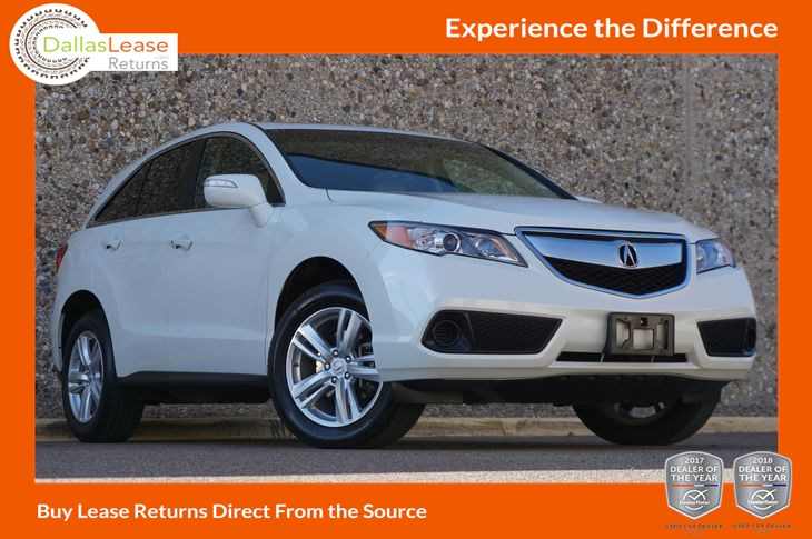 Used Acura RDX In Dallas - Lease acura rdx
