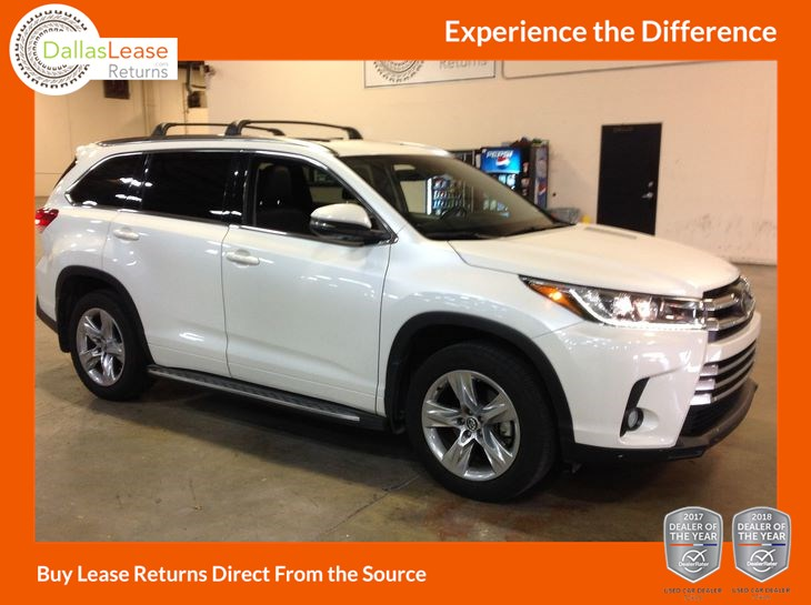 Toyota Highlander 2017 Lease >> Sold 2017 Toyota Highlander Limited In Dallas