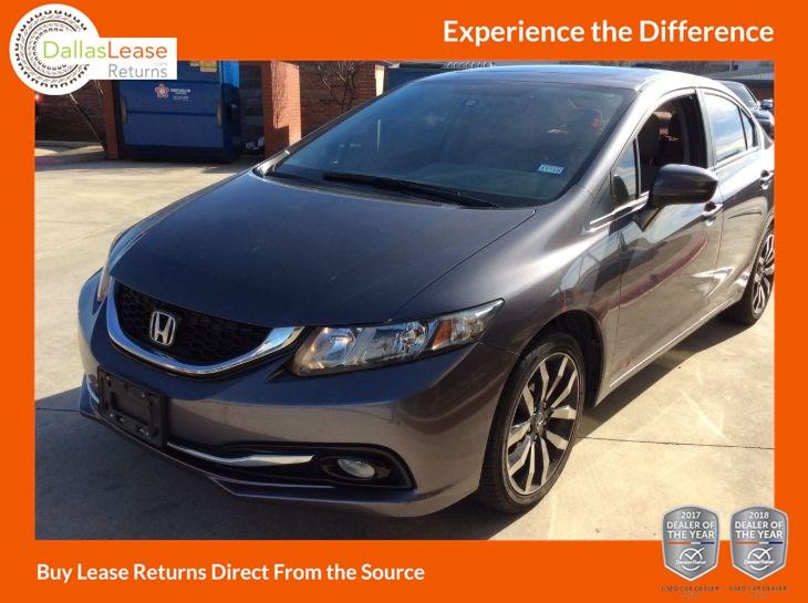 Used 2014 Honda Civic Sedan Ex L In Dallas