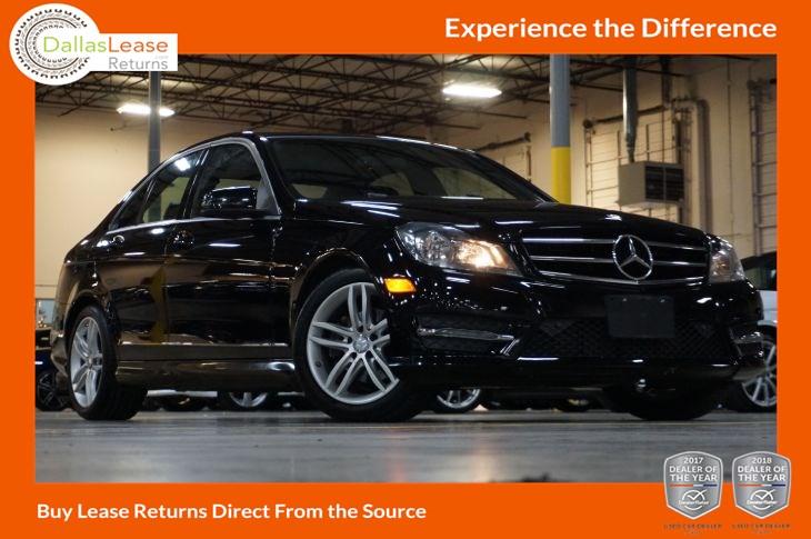 2014 Mercedes-Benz C 250 Sport - Dallas Lease Returns