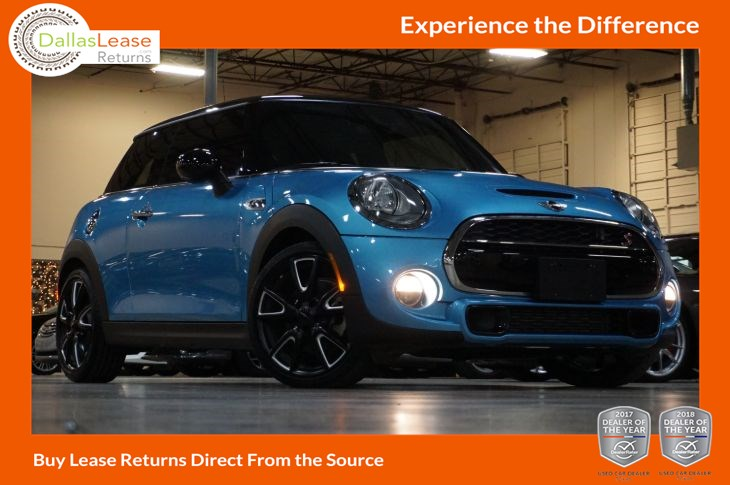 2016 Mini Cooper Hardtop S Dallas Lease Returns