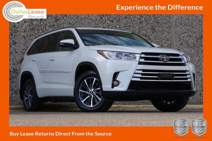 Toyota Highlander 2017 Lease >> Sold 2017 Toyota Highlander Xle In Dallas