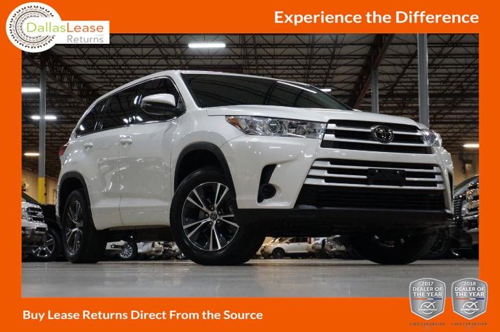 Toyota Highlander 2017 Lease >> Sold 2017 Toyota Highlander Le In Dallas