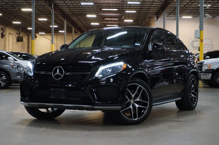 2016 Mercedes-Benz GLE 450 AMG 4MATIC Coupe - Dallas Lease Returns