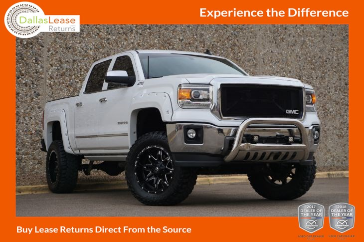 2015 GMC Sierra 1500 SLT - Dallas Lease Returns